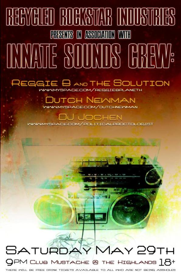 Innate Sounds Crew Flier